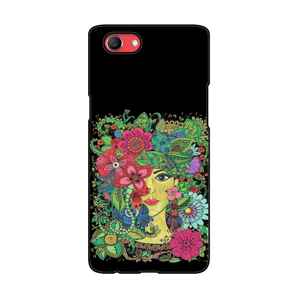 Colorful Flowers Design Printed Oppo Mobile Case