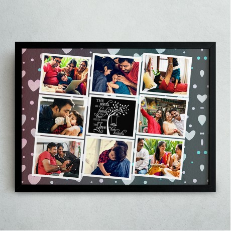 Family Quote Collage Frame 2