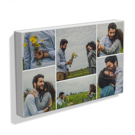 Lovable Couple Collage Frame