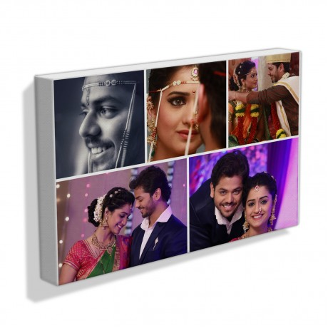 Wedding Couple Collage Frame