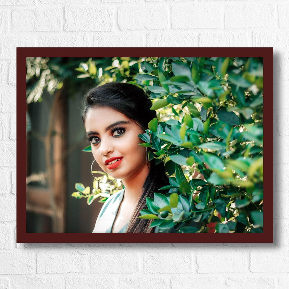 Personalized Landscape Photo Frame