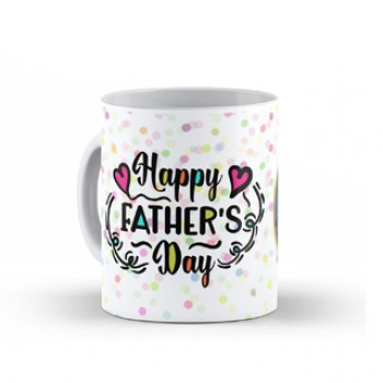 Personalised Happy Fathers Day Photo Mug