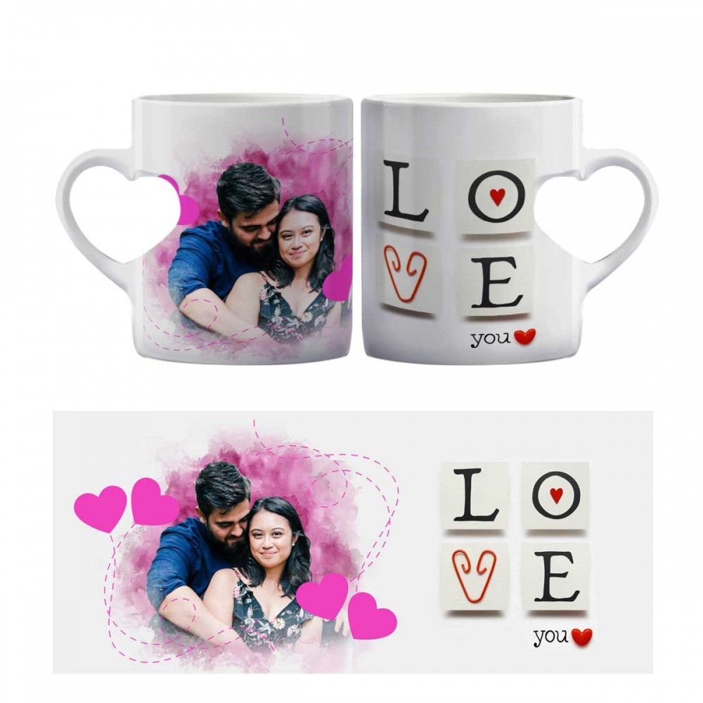 Heart Shape Mug - Love You