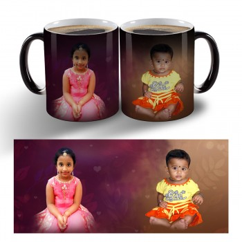 Personalised Photo magic mug