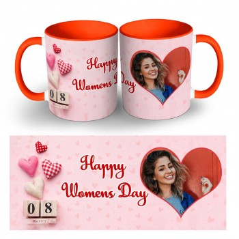 Personalised Happy Womens Day Photo Mug 2