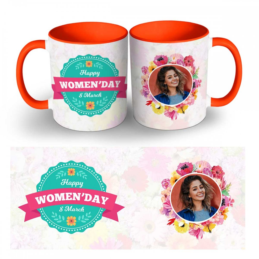 Personalised Happy Womens Day Photo Mug 4