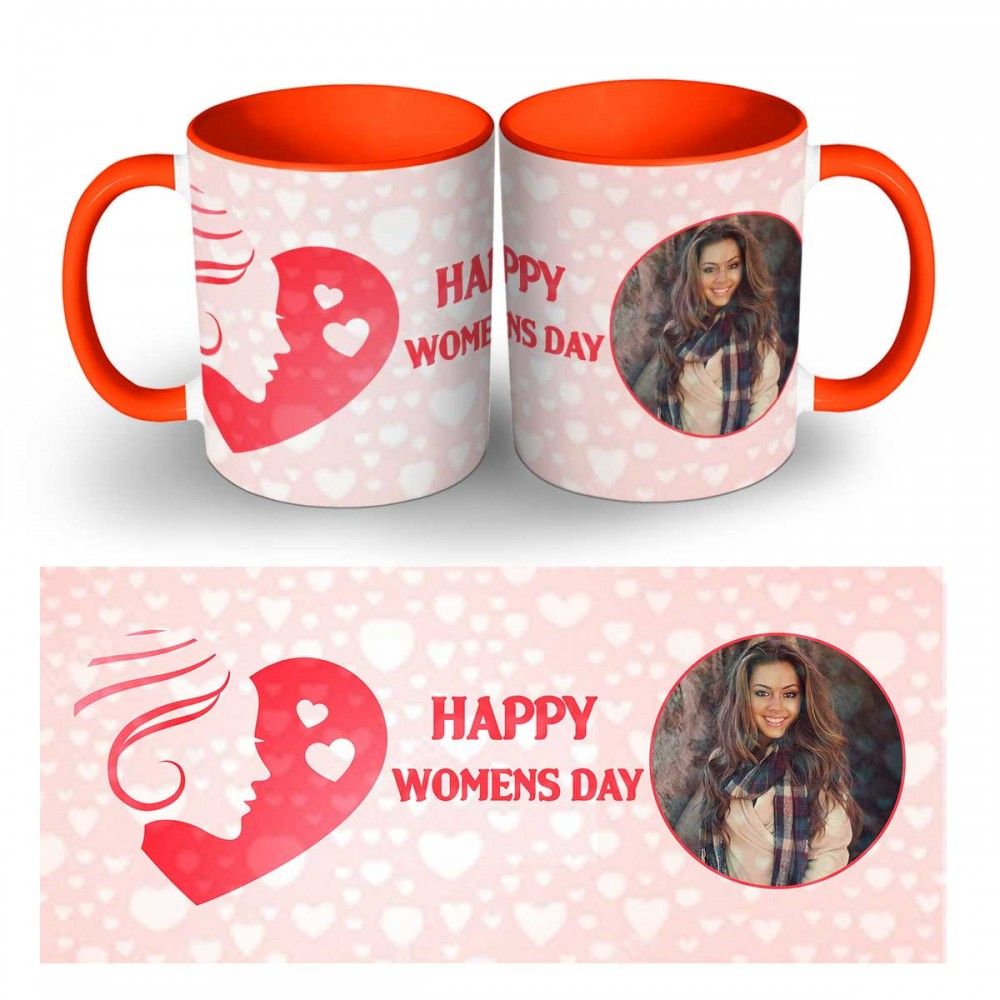 Personalised Happy Womens Day Photo Mug 5