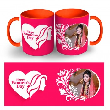 Personalised Happy Womens Day Photo Mug 6