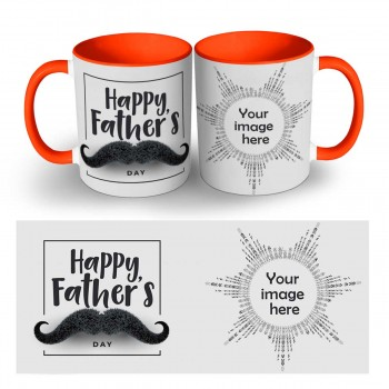 Happy Fathers Day Photo Mug