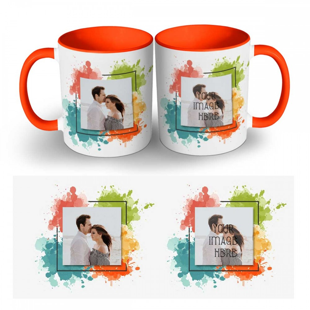 Photo Mug With Two Images