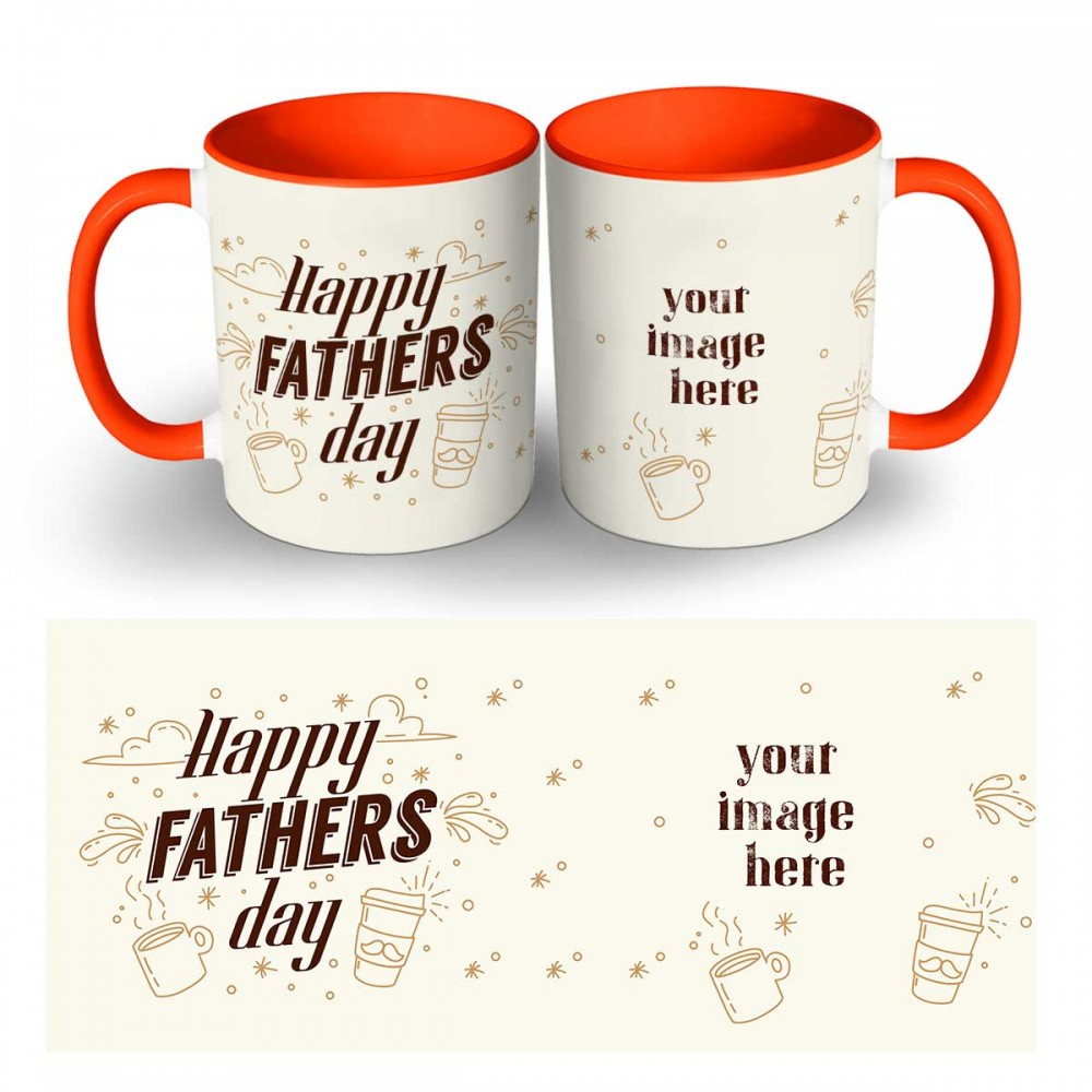 Happy Fathers Day Photo Mug 3