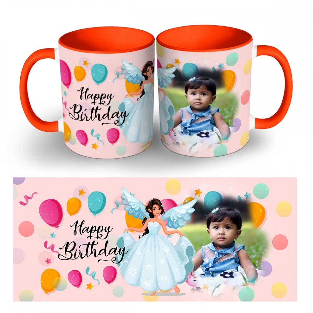 Personlaised Happy birthday Wishes Quoted Mug