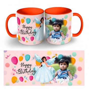 Happy Birthday Photo Mug 1