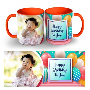 Happy Birthday Day  Photo Mug 2