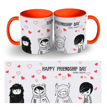 Personalised Friendship Day Quoted Photo Mug