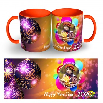 Happy New Year Photo Mug