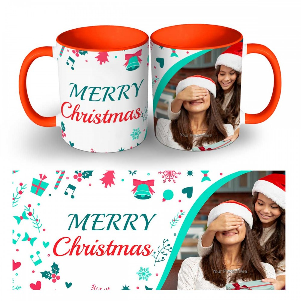 Happy Christmas Photo Mug 7