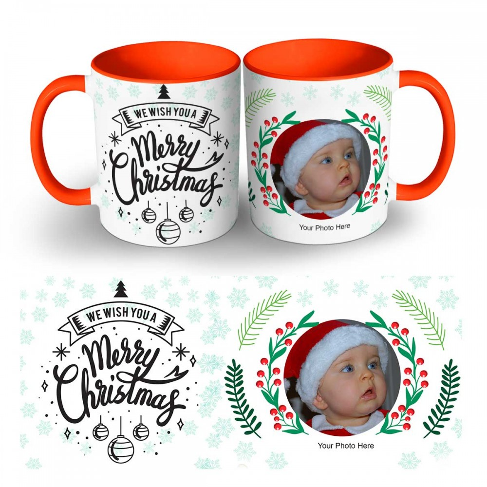 Happy Christmas Photo Mug 8