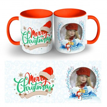 Happy Christmas Photo Mug 9