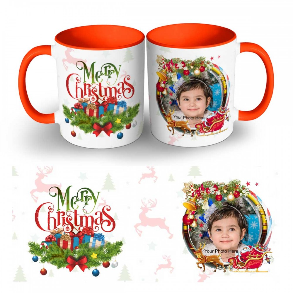Happy Christmas Photo Mug 3