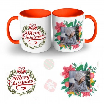 Happy Christmas Photo Mug 4