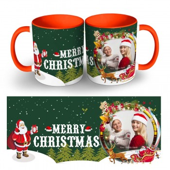 Happy Christmas Photo Mug 5
