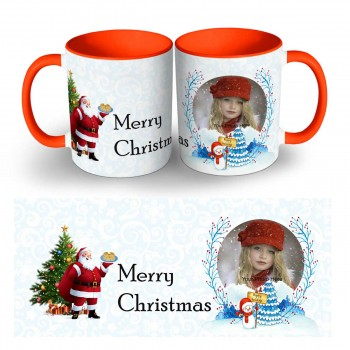 Happy Christmas Photo Mug 6