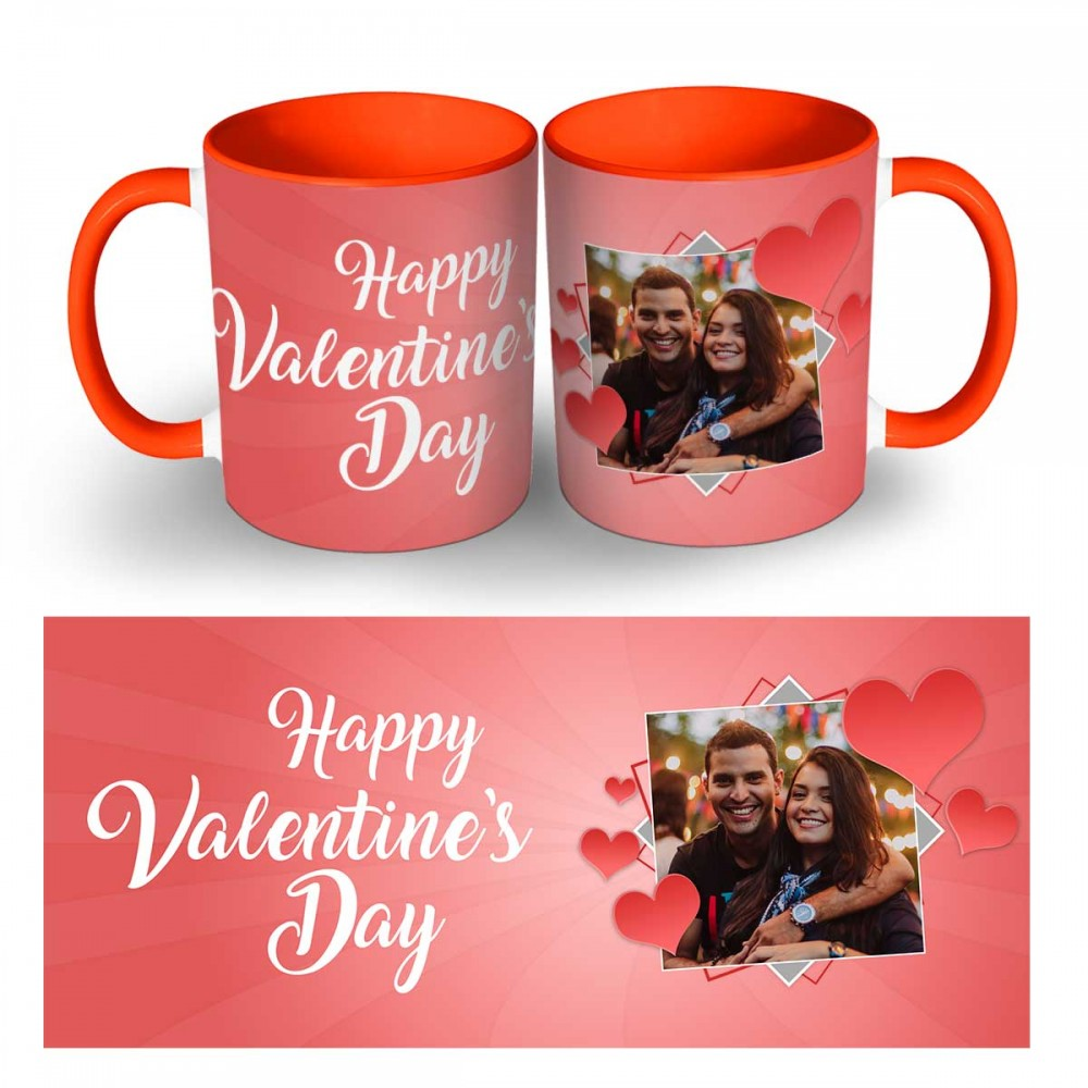 Happy Valentines Day Photo Mug 1