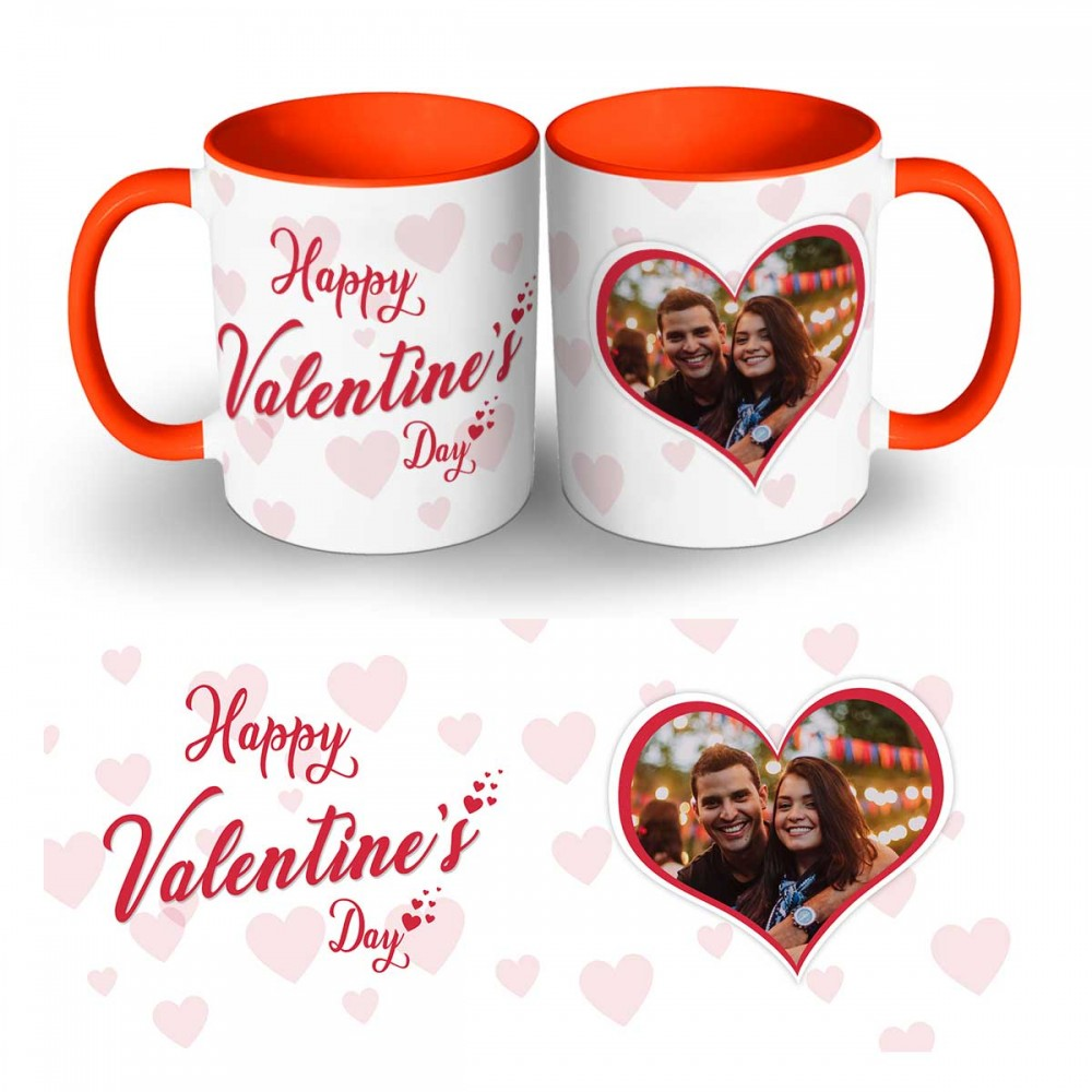 Happy Valentines Day Photo Mug 2