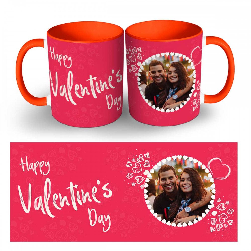 Happy Valentines Day Photo Mug 3