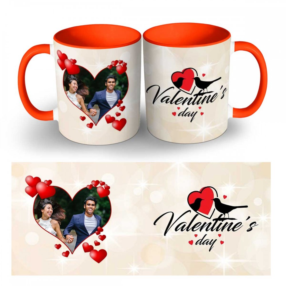 Happy Valentines Day Photo Mug 6