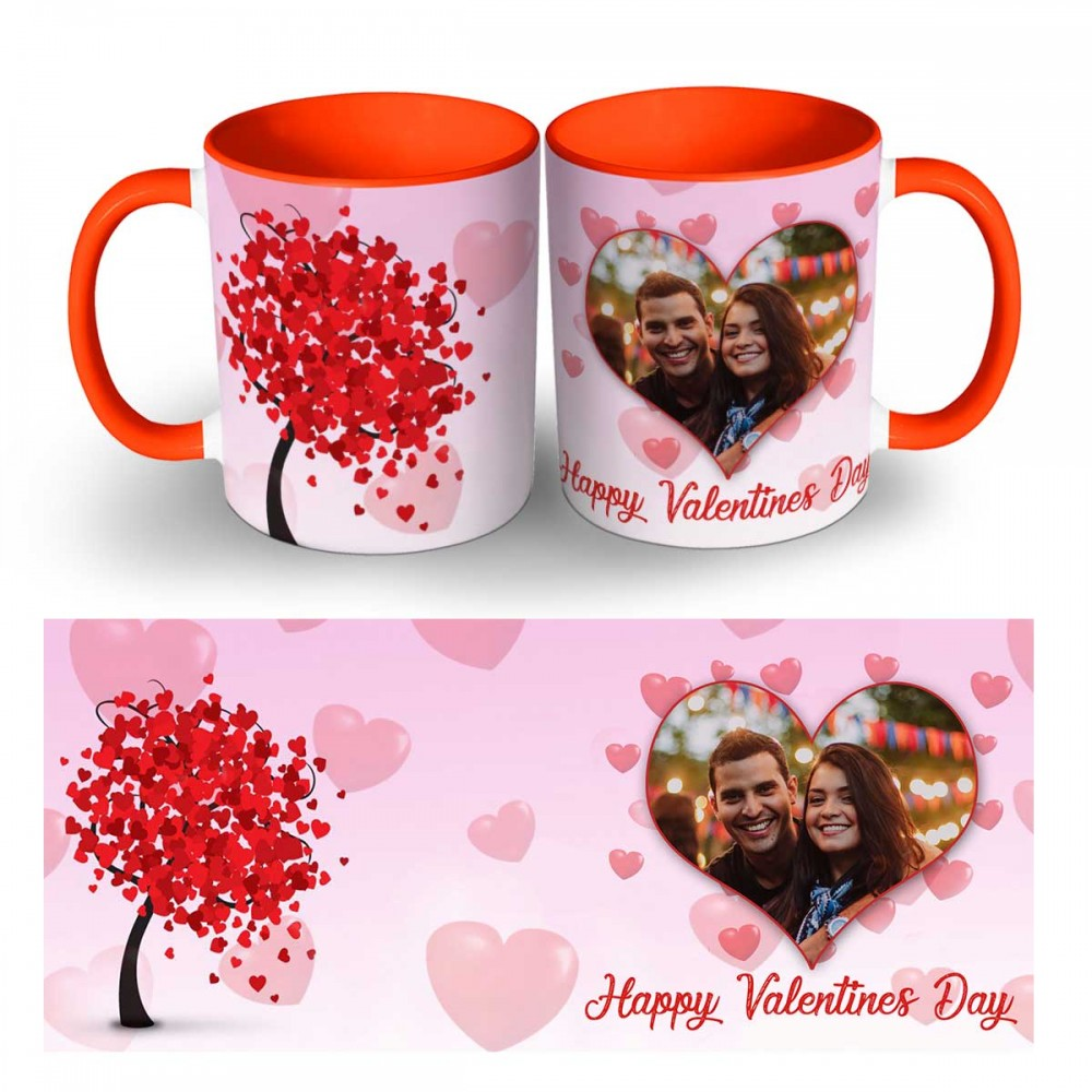 Happy Valentines Day Photo Mug 8