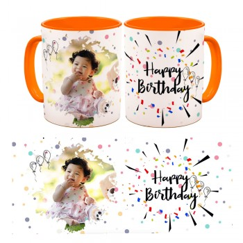Photo Mug - Happy Birthday Classic