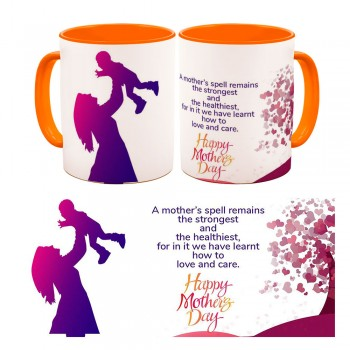 Personalised Happy Mothers day Quoted Mug