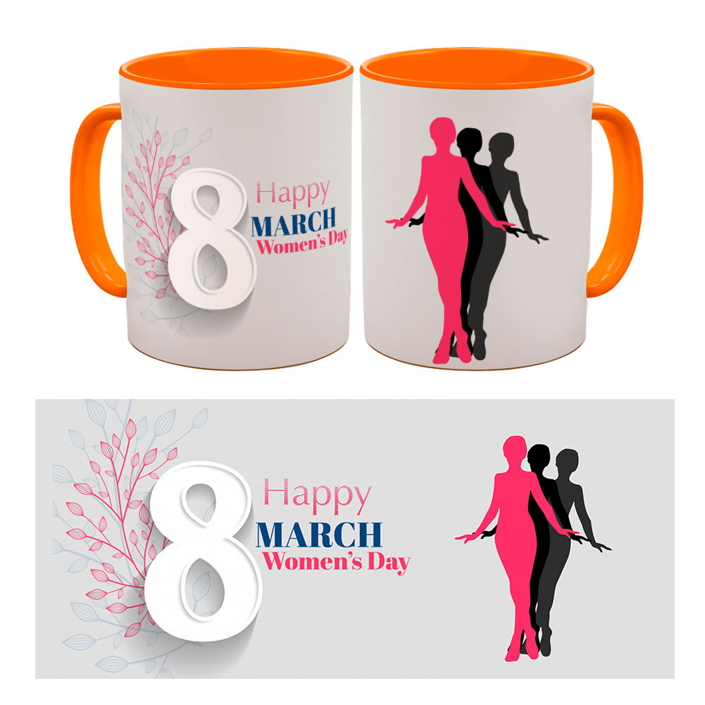 Happy Womens Day Quoted Mugs