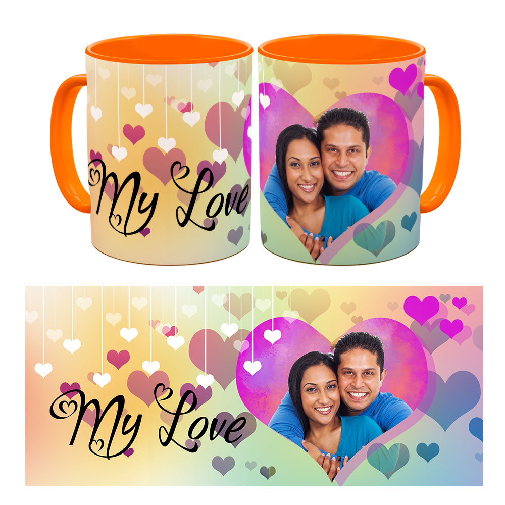 My Love quoted Photo Mug