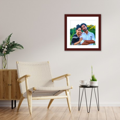 Personalized Square Photo Frame
