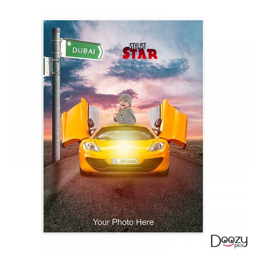 Stylist Star Print Poster