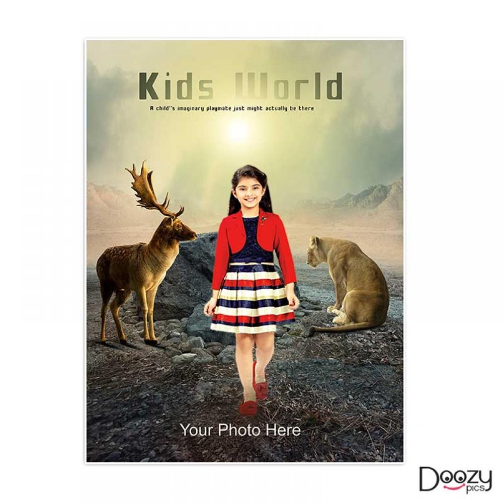Kids World Print Poster 2