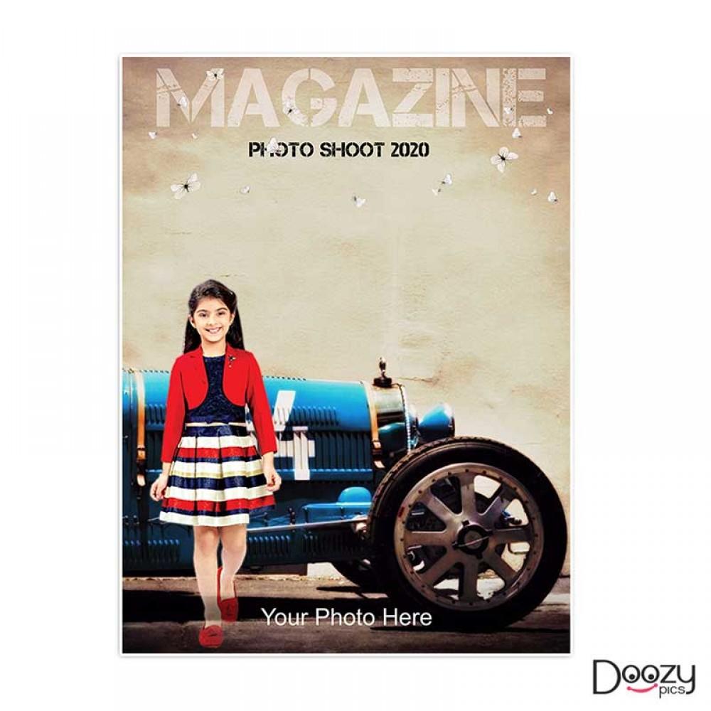 Magazine Photo Shoot Print Poster