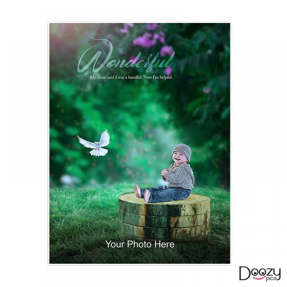Wonderful Kid Print Poster