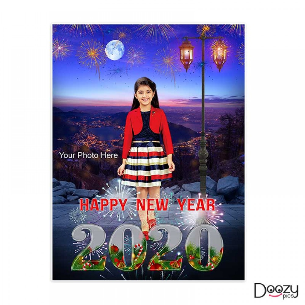 Happy New Year Kids Poster